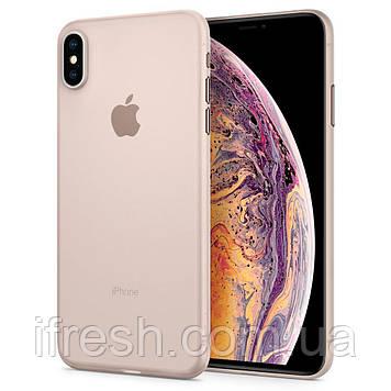 Чехол Spigen для iPhone XS MAX AirSkin, Soft Clear (065CS24829)