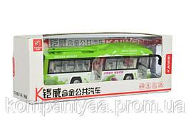 Детский игрушечный инерционный троллейбус MS1602A  (Зеленый)
