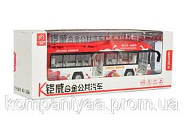 Детский игрушечный инерционный троллейбус MS1602A  (Красный)
