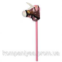 Конячка на палиці MP 2138 75 см (Рожевий)