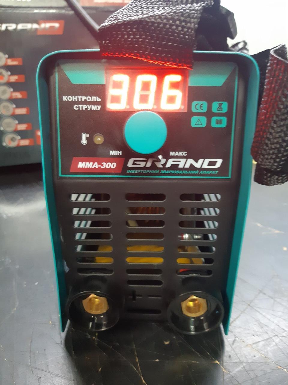Сварочный инвертор Grand ММА-300 (LCD-дисплей)
