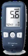 Акція Глюкометр SD CodeFree + Тест-смужки для визначення глюкози в крові 150 шт. Медапаратура