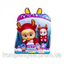 Детский набор маленьких кукол Cry Babies 633-D (Оленёнок)