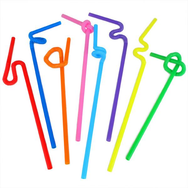 трубочки для коктейлей с длинным коленом