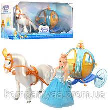 Кукла Барби с каретой и лошадью 258A (на батарейках)