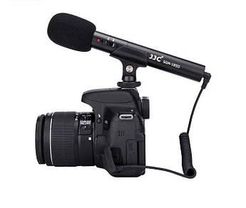 Направленный накамерный микрофон JJC SGM-185 II для фотоаппарата (камеры)