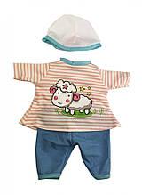 Кукольный наряд для Беби Борна с кепкой DBJ-486