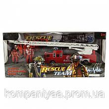 """Детский игровой набор """"Спасателей"""" с пожарной лодкой F119-34  (Красный)"""
