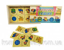Дитяче дерев'яне доміно MD 2198 (Іграшки)