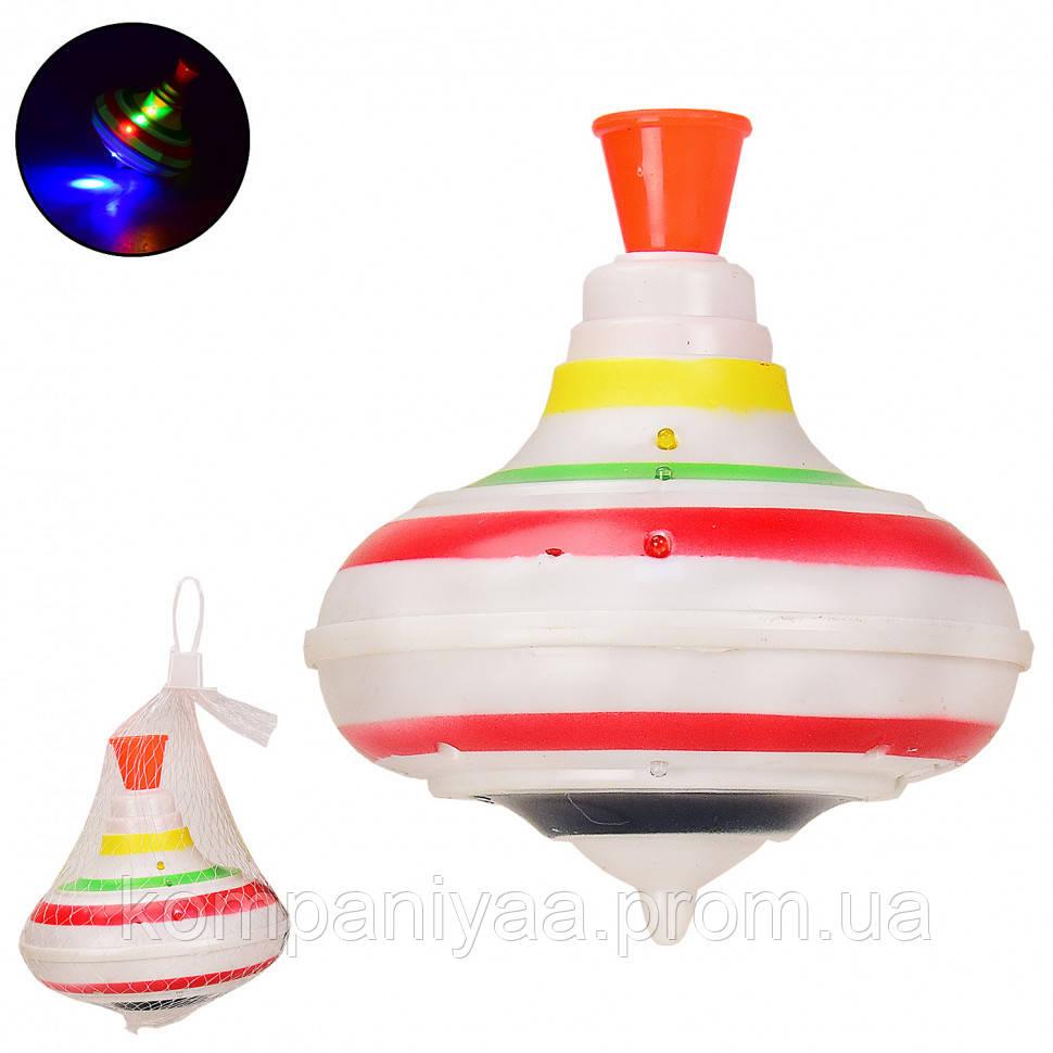 Дитяча пластикова дзига зі світловими ефектами 878-1A