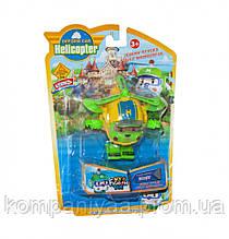 """Детский робот-трансформер """"Robocar Вертолет"""" 378B (Желтый)"""