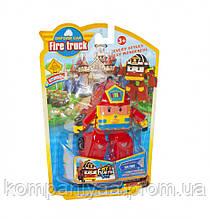 """Детский игрушечный робот-трансформер """"Robocar-Пожарная"""" 378B (Красный)"""