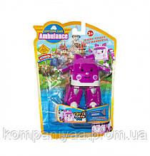 """Детский робот-трансформер """"Robocar Скорая"""" 378B (Фиолетовый)"""