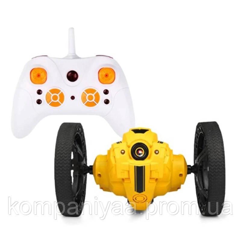 Радиоуправляемый прыгающий робот-дрон RH805 (Yellow)