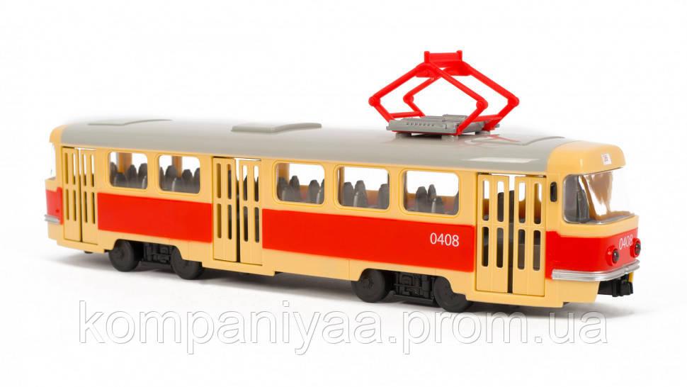 Детская игрушка Трамвай  9708 (9708-B)
