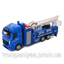 Іграшкова інерційна машинка Кран AS-2399-1 (Синій)