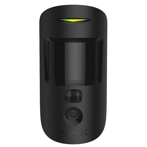 Беспроводной датчик движения Ajax MotionCam черный, фото 2
