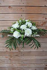 Искусственные цветы - Гвоздика букет, 43 см