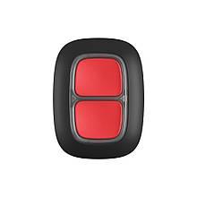 Бездротова екстрена кнопка Ajax DoubleButton чорна