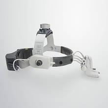 Налобний освітлювач Heine ML4 LED з лупою HRP 3.5 Х ( J-008.31.454) Медапаратура