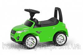 """Іграшка дитяча каталка-толокар """"Машинка"""" RR 2-005-LG (Салатовий)"""