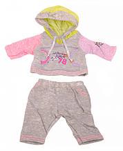 Кукольный костюм для Беби Борна на вешалке DBJ-445A/B