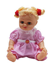 """Кукла музыкальная """"Алина"""" 5079/5138/41/43 в рюкзаке (В розовом платьице)"""