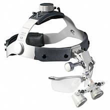 Бинокулярная лупа Heine на шлеме с защитным щитком (2,5х/340мм) С-000.32.365 Медаппаратура