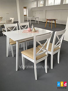 Обідній комплект: стіл Мілан і стільці Ікс Pavlyk ™