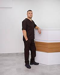 Чоловічий медичний костюм Онуфрій ПРЕМІУМ 44-56