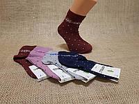 Детские носки средние Montebello Ф3 б/р 7  горошек и орнамент под резинкой