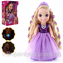 "Кукла говорящая ""Принцесса"" на батарейках M 4485 UA (на укр. языке)"