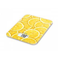 Ваги кухонні для їжі KS 19 lemon Beurer електронні настільні харчові