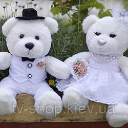 Ведмедики наречений і наречена, 55 см