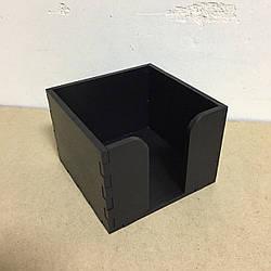 Підставка для серветок на 1 клітинку (140 х 140 мм. Колір: Чорний