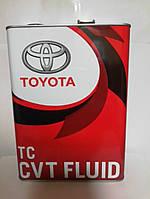 Масло трансмиссионное Toyota CVT Fluid TC 4л. ж/б Япония