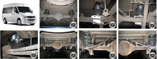 Встановити пневмопідвіску Mercedes Sprinter (Мерседес Спринтер), пневмопідвіска Mercedes Sprinter (Мерседес Спринтер),посилення ресор і установка додаткової пневмопідвіски