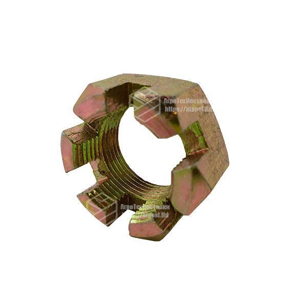 Гайка М14х1,5 корончатая