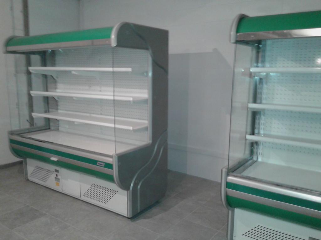 Продажа торгового оборудования б/у (холодильного оборудования), упаковка, погрузка, перевозка, розгрузка, установка.