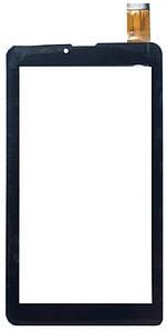 """Оригинальный Сенсор (Тачскрин) для планшета 7"""" Digma Optima E7.13G   Optima 7.07 3G 30pin (184x104mm)(Черный)"""