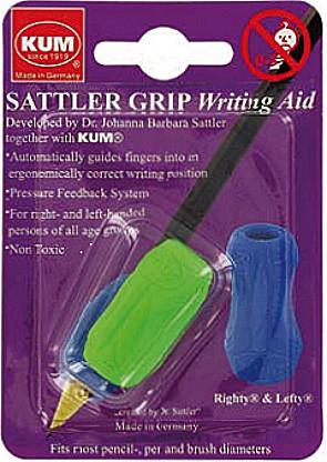 Держатель для пишущих KUM блистер Sattler Grip A7