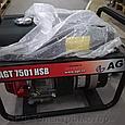 Бензиновый генератор AGT 7501 HSB R26, фото 4