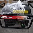 Бензиновый генератор AGT 7501 HSB R26, фото 2