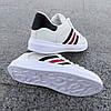 Білі літні кросівки еко шкіра шкіряні в дизайні adidas stan smith superstar жіночі, фото 3