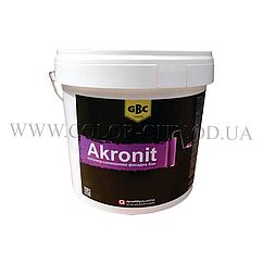 Силиконовая фасадная краска GBC Akronit 15кг (Австрия - Болгария)
