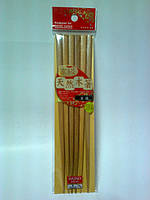 DAISO Бамбуковые декоративные палочки для еды (3 пары)