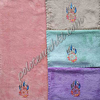 Кухонное полотенце микрофибра Перышки (20)