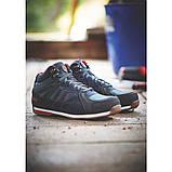 Робочі черевики шкіряні з металевим носком. Фірмові чоловічі захисні ботинкиЅІТЕ, фото 6