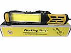 Ліхтарик з магнітом для СТО Working Lamp BL-9096 світлодіодний 220В кабель 9 м ліхтар, фото 3