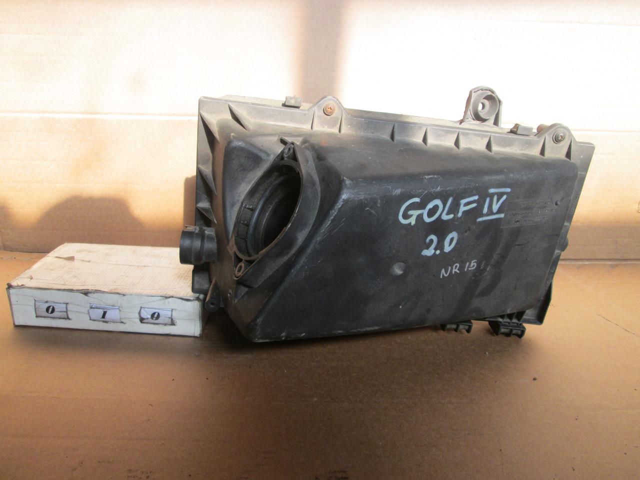 №10  Б/у Корпус повітряного фільтра  1J0129607AC  1J0129620 для VW Golf IV Octavia A3 1997-2004